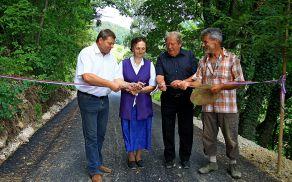 Otvoritev ceste v Lipi