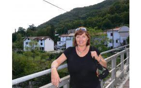Majda Pušnar je že sedmo leto dela kot koordinatorka za obravnavo nasilja v družini za Goriško regijo. Foto: Lea Širok