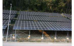 Sončna elektrarna v Poljubinu. Foto: Toni Dugirepec