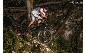 Primož Kožuh navdušen gorski kolesar Foto: Mitja Madon