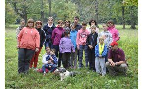 Druženje z osnovnošolci iz OŠ V Parku