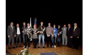 Najboljši športniki v občini Trebnje in občini Mirna v letu 2011, foto: Foto Studio Boršnar