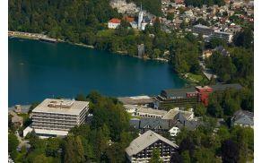 Panoramski pogled na hotel Park.