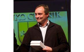 Branko Cestnik, zlati nagrajenec občine Vojnik v letu 2014