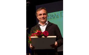 Branko Cestnik, prejemnik zlatega grba občine Vojnik za leto 2014