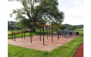 Fitness v naravi v Križah (foto Arhiv Občine Tržič)
