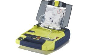 Izgled defibrilatorja.