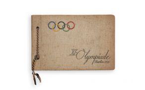 Ohranjen spominski album z XI. olimpijskih iger v Berlinu leta 1936