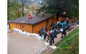 Boj z reko v kampu Korada. Foto: Ivan Križnič