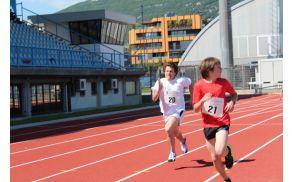 Področno ekipno tekmovanje v atletiki. Foto: OŠ Deskle