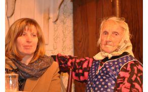 Alojzija je ob svojem 90. rojstnem dnevu iskrivega duha in polna zabavnih domislic.