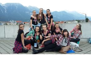Yes team najboljša v hip hop cheer plesu, foto Brane Tomšič