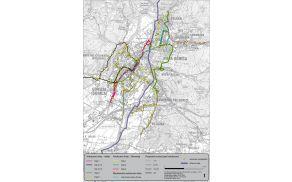 Analiza trenutnega stanja omrežja javnega avtobusnega prevoza.