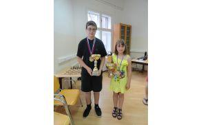 Asja Čebron: zlata in najboljša šahistka Lenta 2012. Foto: Robert Čebron