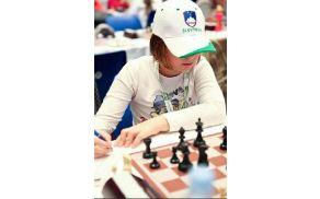 Asja Čebron o treningu: Sediš pred šahovnico in groziš nasprotniku. Foto: Robert Čebron