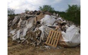 azbestni odpadki