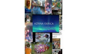 Smo prostovoljke Azrinih iskric, naše delo je humanitarno.