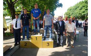 Najboljši tekmovalci 32. državnega prvenstva poklicnih voznikov