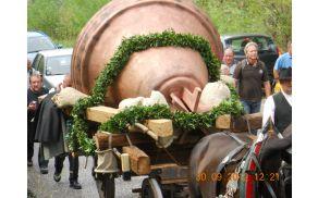 Največji zvon v Sloveniji - replika - foto Gregor Babič