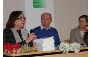 Petkov večer sta o življenju in delu v Beneški Sloveniji med Matajurjem in Nadižo predstavili Bruna Dorbolo in Luisa Battistig. Foto: Nataša Hvala Ivančič
