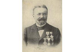 Anton Bezenšk, po katerem se imenuje učna pot.