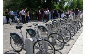 BicikeLJ ima že več kot 40 tisoč uporabnikov. Foto: Arhiv Europlakat.
