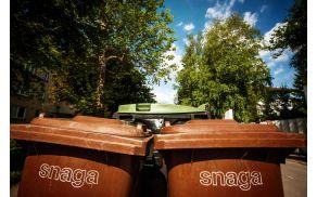 Biološki odpadki bodo zaračunani posebej (foto: arhiv Snaga).