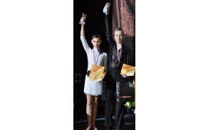 Timotej in Blažka sta tretja najboljša plesalca latinskoameriških plesov  med mlajšimi mladinci v Sloveniji.