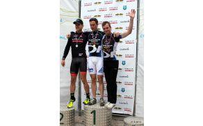 Gorski kolesar Blaž Pristovnik je v Mekinjah pri Kamniku osvojil odlično 3. mesto.