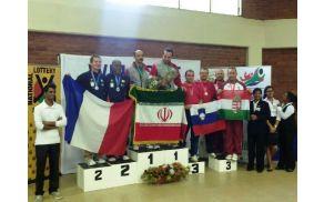Bronasta medalja v namiznem tenisu dvojice - Boris Pušnik in Joško Šimic