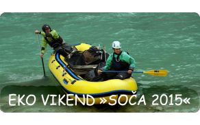 "Bovec šport center - 7. tradicionalni eko vikend ""Soča 2015"""