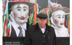 Branko Žnidarčič na otvoritvi foto razstave. Foto: Toni Dugorepec