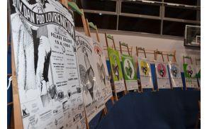 Ob 20. obletnici TD Briše so na ogled postavili vse plakate, ki so v preteklih letih vabili na Dan pod Lovrencem.
