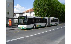 Do leta 2020 v Ljubljani tretjina na javnem prevozu? Foto: Wikipedia.