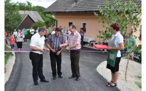Odprtje ceste Čanje-Komorivec