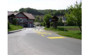 Nova prometna signalizacija v Zgornji Jablanici