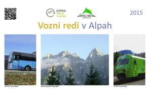 Vozni redi v Julijskih Alpah