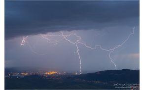 Razelektritve (Tržaški zaliv, 13/06/2012) Foto: Danijel Konjedic