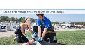 Tečaj prve pomoči s kisikom pri potapljaških nezgodah