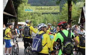 Zbor gorskih kolesarjev. Foto: Zdenka Mihelič