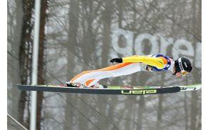 David Grm je poletel 187 metrov.