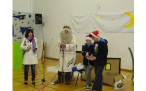 Dedek Mraz v Vrtovinu