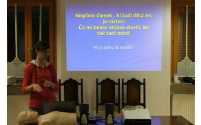 Usposabljanje za uporabo defibrilatorja (AED)