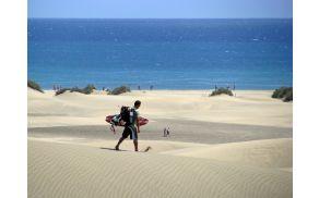 Gran Canaria, sipine Playa del Ingles.
