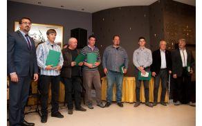 Župan Tadej Beočanin, Peter Bakaršič, Tomaž Božič, Bogdan Čehovin, Peter Marc, Domen Ferjančič, Boris Stegovec in Damjan Štokelj.