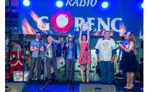Lastniki Naj polke Gorenca 2014 - Ansambel Dor ma cajt (arhiv Radio Gorenc)