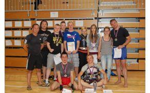 Člani KBV Sevnica z osvojenimi medaljami