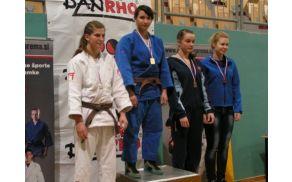Nastja Stopernik - državna prvakinja med kadetinjami do 70 kg