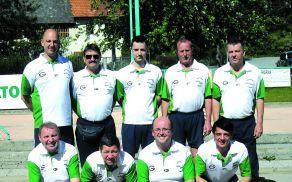 Članska ekipa Dragomerja Gut & Pet v sezoni 2012/2013