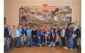 Udeleženci državnega prvenstva društev upokojencev Slovenije v streljanju z zračno puško